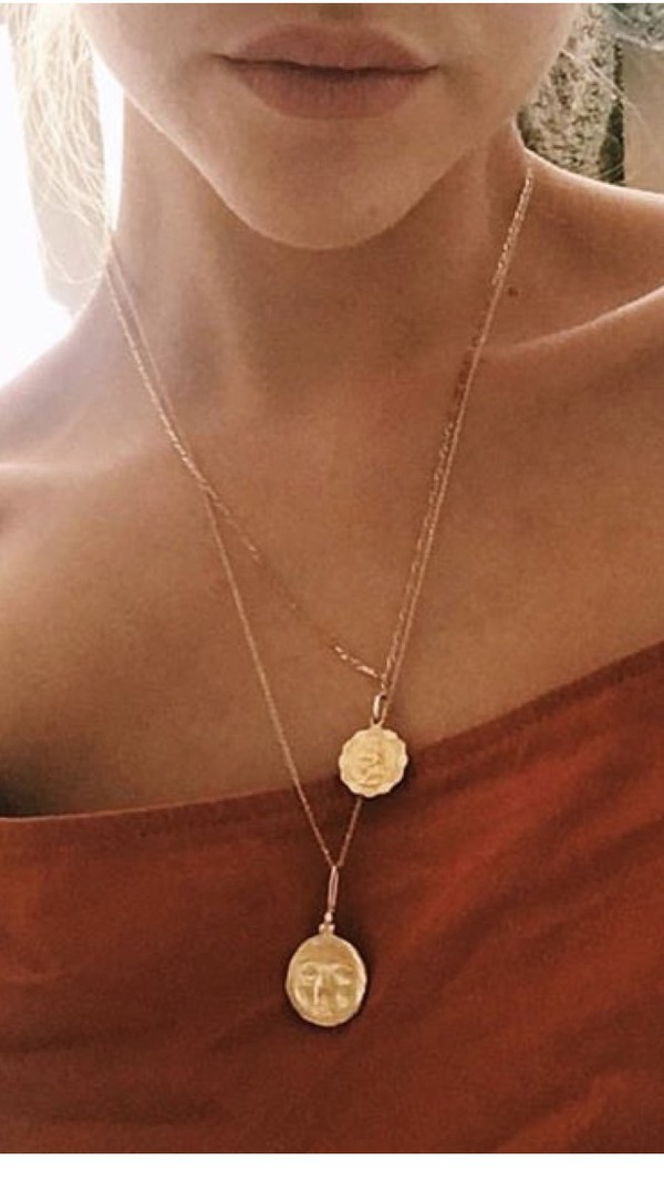 jewels gold layered necklace