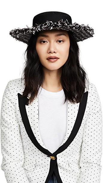 Eugenia Kim hat pastel black