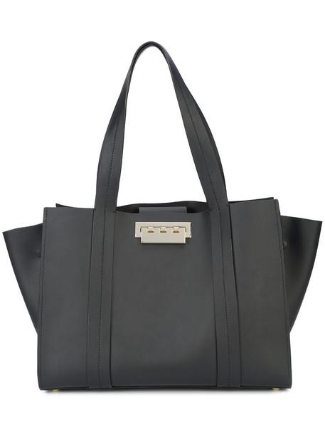 ZAC Zac Posen women leather black bag