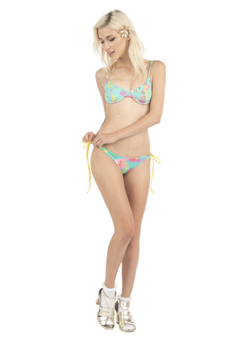 swimwear lolli swim bikini top print underwire bikiniluxe