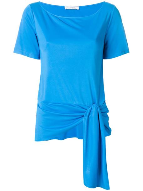 Versace Collection t-shirt shirt t-shirt women blue top