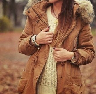 coat jacket winter coat winter jacket winter outfits marron veste doudoune clothes watch pullover