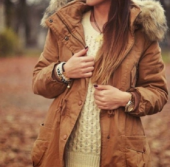coat clothes jacket veste winter coat winter jacket winter marron doudoune watch pullover