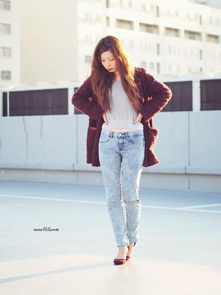 shoes jeans coat xoxo hilamee t-shirt