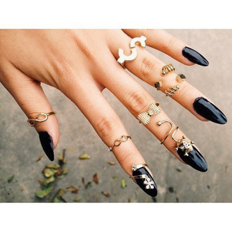 hipster cool jewels ring amazing wow swag sweatshirt storm trooper gold ring knuckle ring gold middle rings the middle
