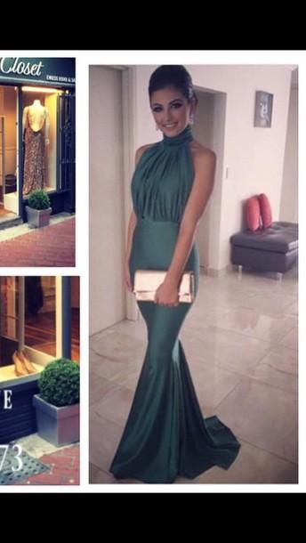 Debs Green Dresses