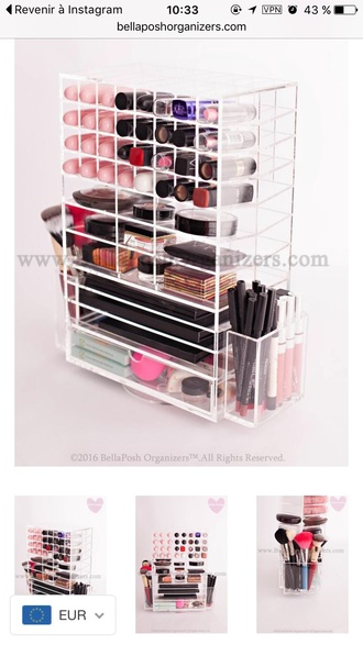 home accessory beauty organizer make-up