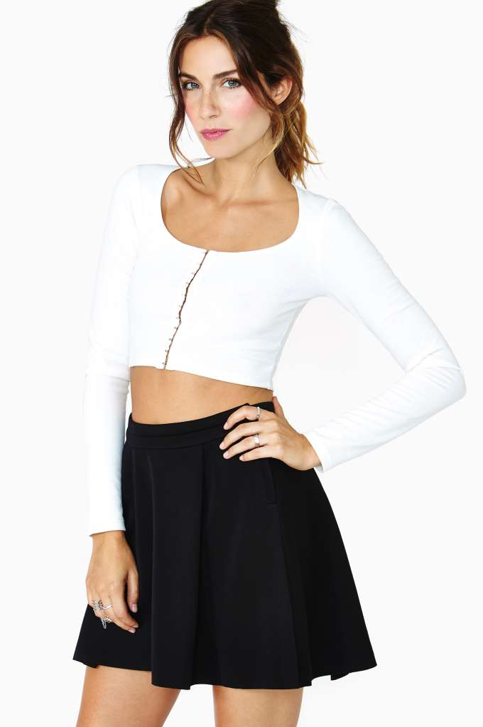 Flounce Skirt  in  Clothes at Nasty Gal