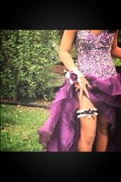 dress,purple,purple dress,homecoming dress,sparkle,glitter dress,high-low dresses,cute,sparkling dress,sexy