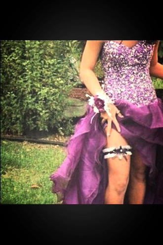 dress purple purple dress homecoming dresses sparkle glitter dress high-low dresses cute sparkling dress sexy