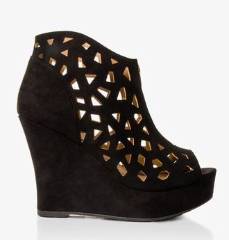shoes forever new wedge heel grunge sold out wedges