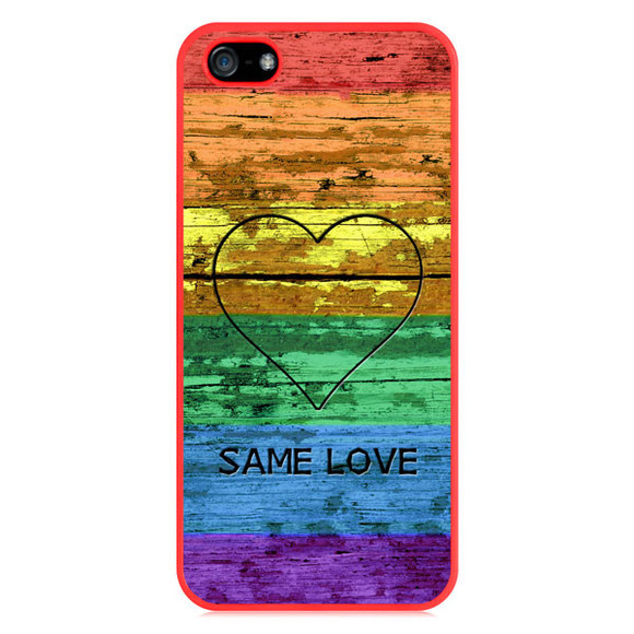 rainbow jewels lesbian bi bisexual homosexual gay pride rainbow flag bear paw heart same love iphone case iphone cover iphone cases samsung galaxy cases
