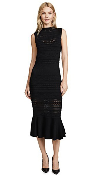 Alexis dress black