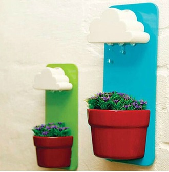 home accessory plants clouds watering can top shoes bag underwear homewear