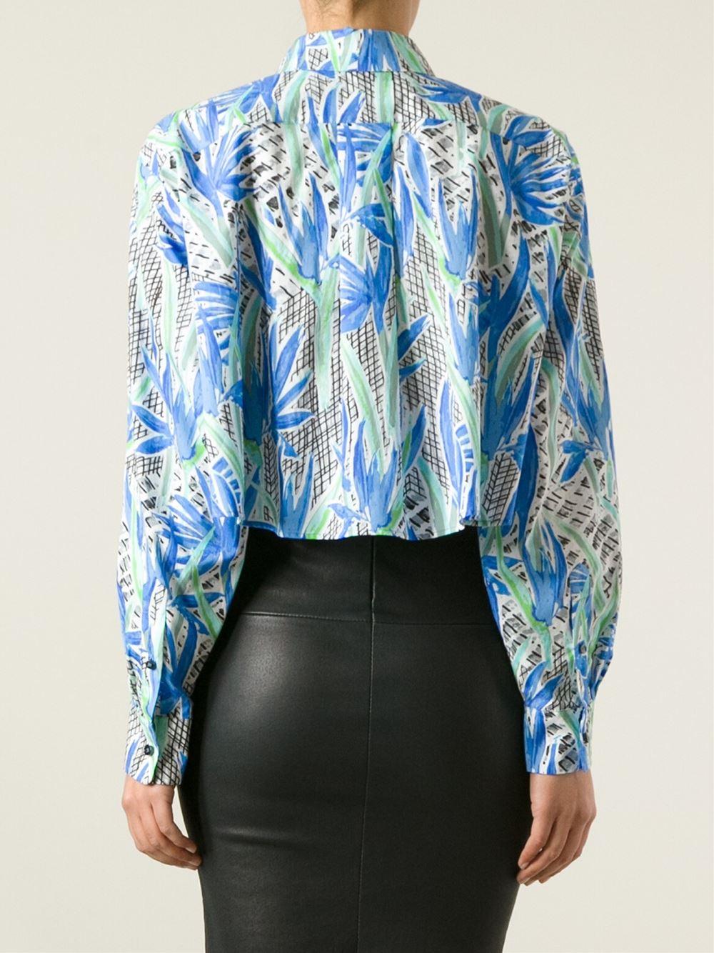 Kenzo Floral Printed Shirt - Dolci Trame - Farfetch.com