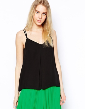 Coast | Coast Vida Cami Top with Back Lace Insert at ASOS