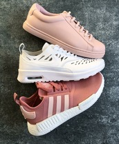 shoes,nike,trainers,white sneakers,sneakers,adidas,nude