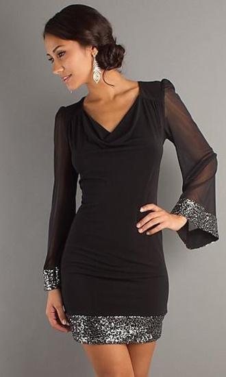 dress black dress party dress metallic jewel black