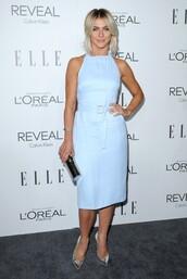dress,julianne hough,blue