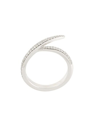 metallic women ring jewels
