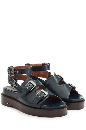 straps sandals leather sandals leather black shoes