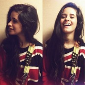 sweater,tumblr,vintage,knitwear,hipster,camila cabello,celebrity,Fifth Harmony,uk flag