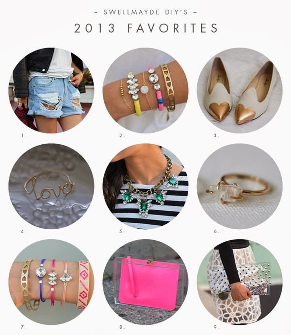 swellmayde shorts jewels bag jewelry bracelets stacked bracelets