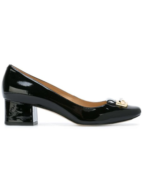 MICHAEL Michael Kors women pumps leather black shoes