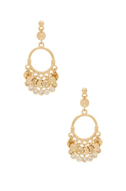 Ettika mermaid earrings gold jewels