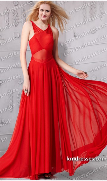 Dramatic illusion structured bodice red formal gown rihanna at  2013 grammy awards