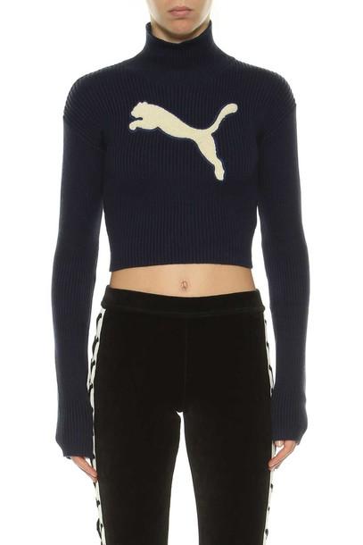 sweater turtleneck turtleneck sweater blue