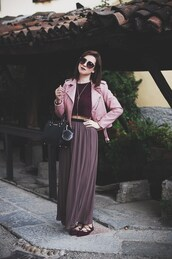once upon a time,blogger,jacket,top,shoes,bag,sunglasses