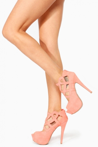 Qupid Salmon Abstract Cut Out Peep Toe Heels @ Cicihot Heel Shoes online store sales:Stiletto Heel Shoes,High Heel Pumps,Womens High Heel Shoes,Prom Shoes,Summer Shoes,Spring Shoes,Spool Heel,Womens Dress Shoes,Prom Heels,Prom Pumps,High Heel Sandals