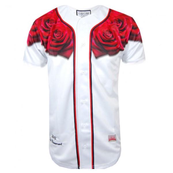 baseball jersey Silk Silk t-shirt