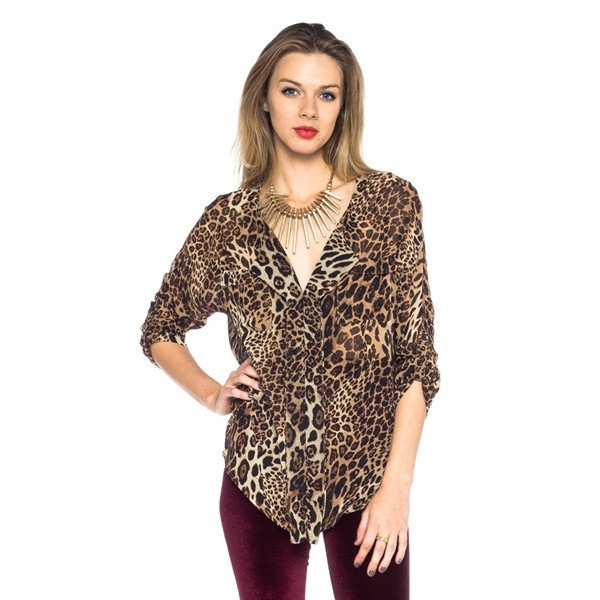 blouse primal chic top leopard print print animal graphic tee fall outfits makeup table dress to kill leopard print vanity row