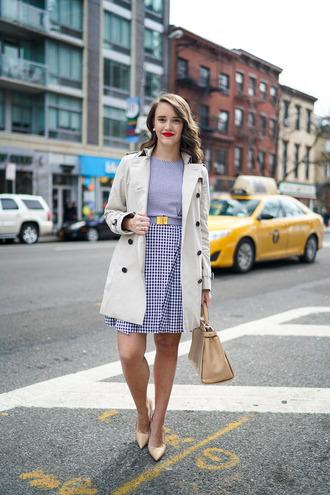 covering bases curvy blogger dress coat shoes bag make-up jewels
