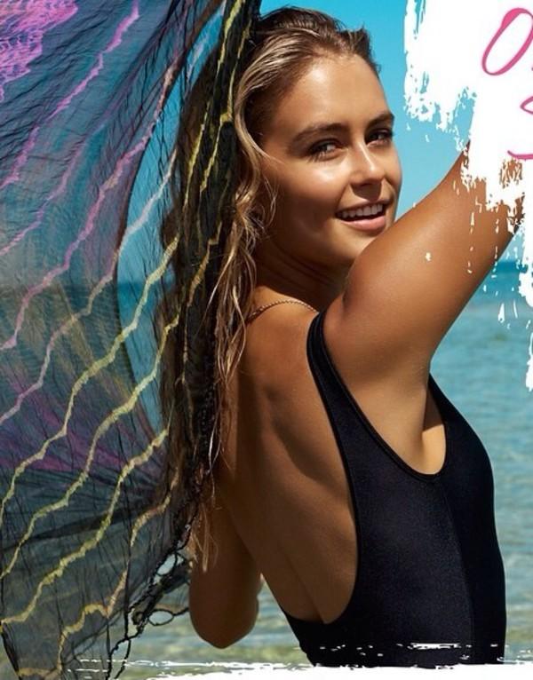 swimwear swimwear one piece swimmers togs swimwear beach low back instagram bondi sands style