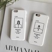 phone cover,white,tumblr,id card,armandin,black,basic,cool,cool phone case