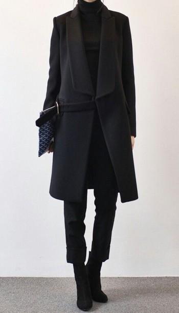 coat black coat