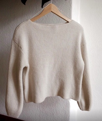 sweater white crop tops white sweater cotton hipster boho indie grunge soft grunge alternative basic tee casual girly ariana grande love quotes lovely pepa fashion style dope cute dress urban outfitters chanel