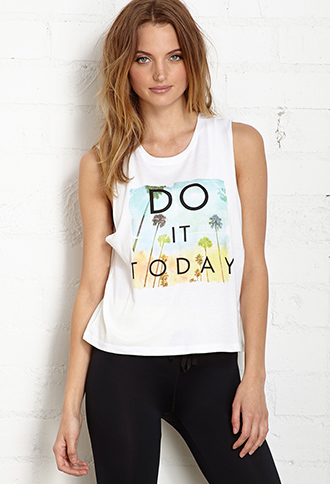 Do It Today Muscle Tank | FOREVER21 - 2000088000