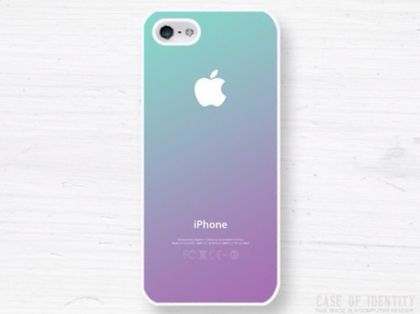 phone cover ombre iphone 5c case