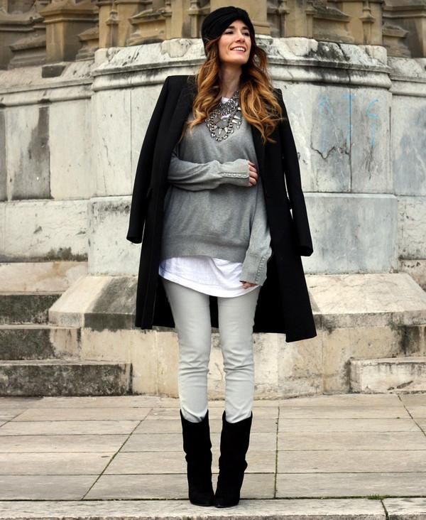 rebel attitude shoes coat sweater jeans jewels t-shirt
