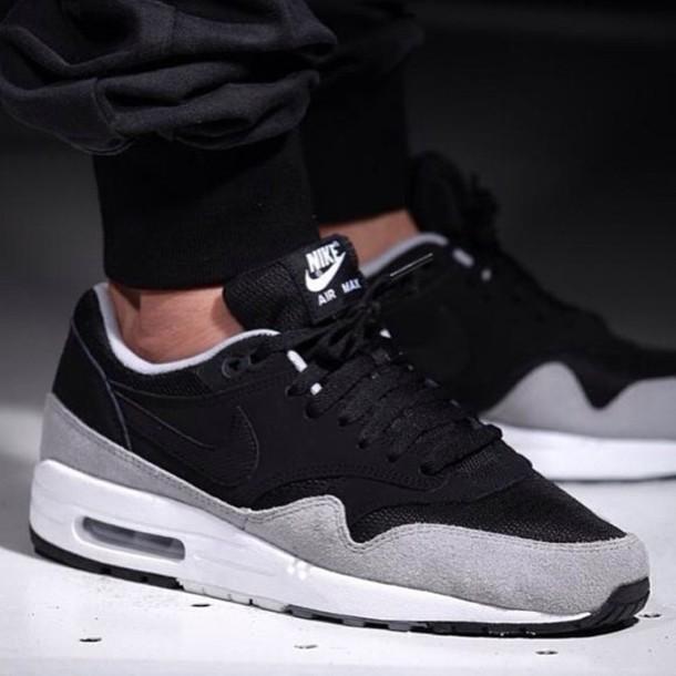 shoes black air max