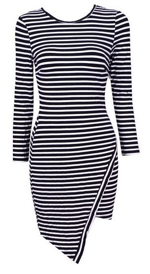 Striped Cassie Dress
