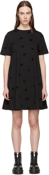 McQ Alexander McQueen dress babydoll dress mini black