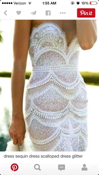 dress white light blue lace dress