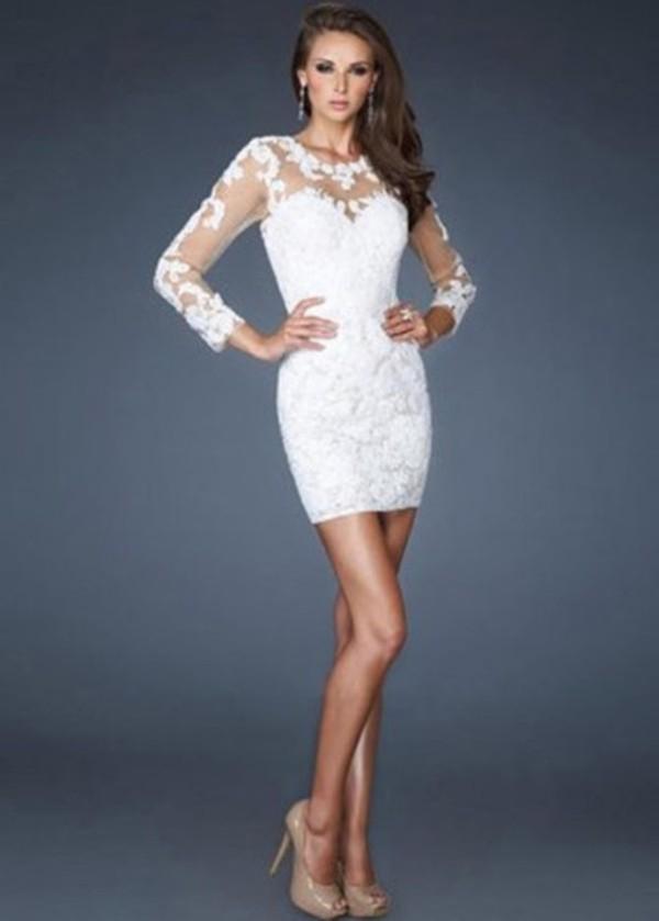 White Winter Formal Dress - Shop for White Winter Formal Dress on ...