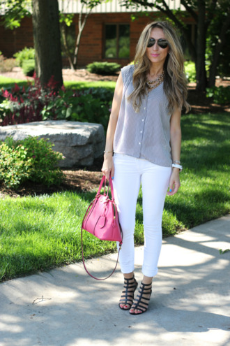 lilly's style top jeans shoes bag jewels