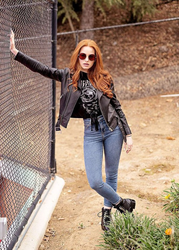 jeans madelaine petsch jacket